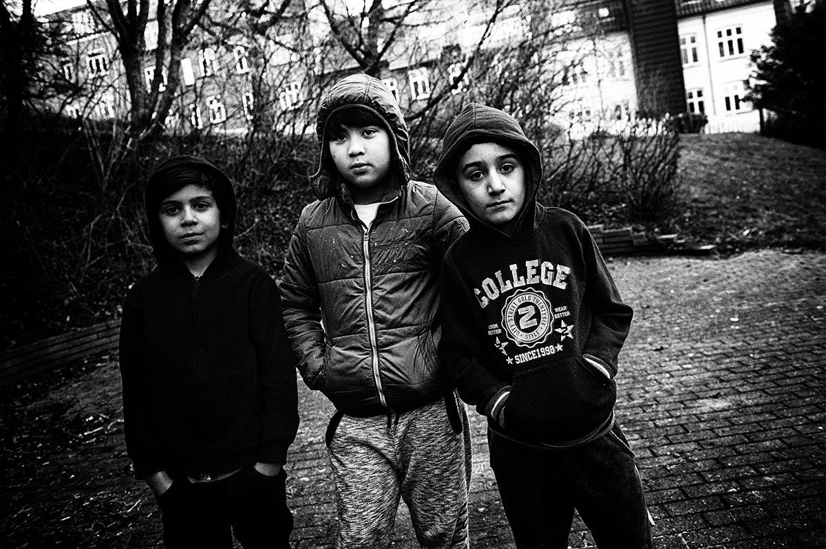 Boys n the hood...