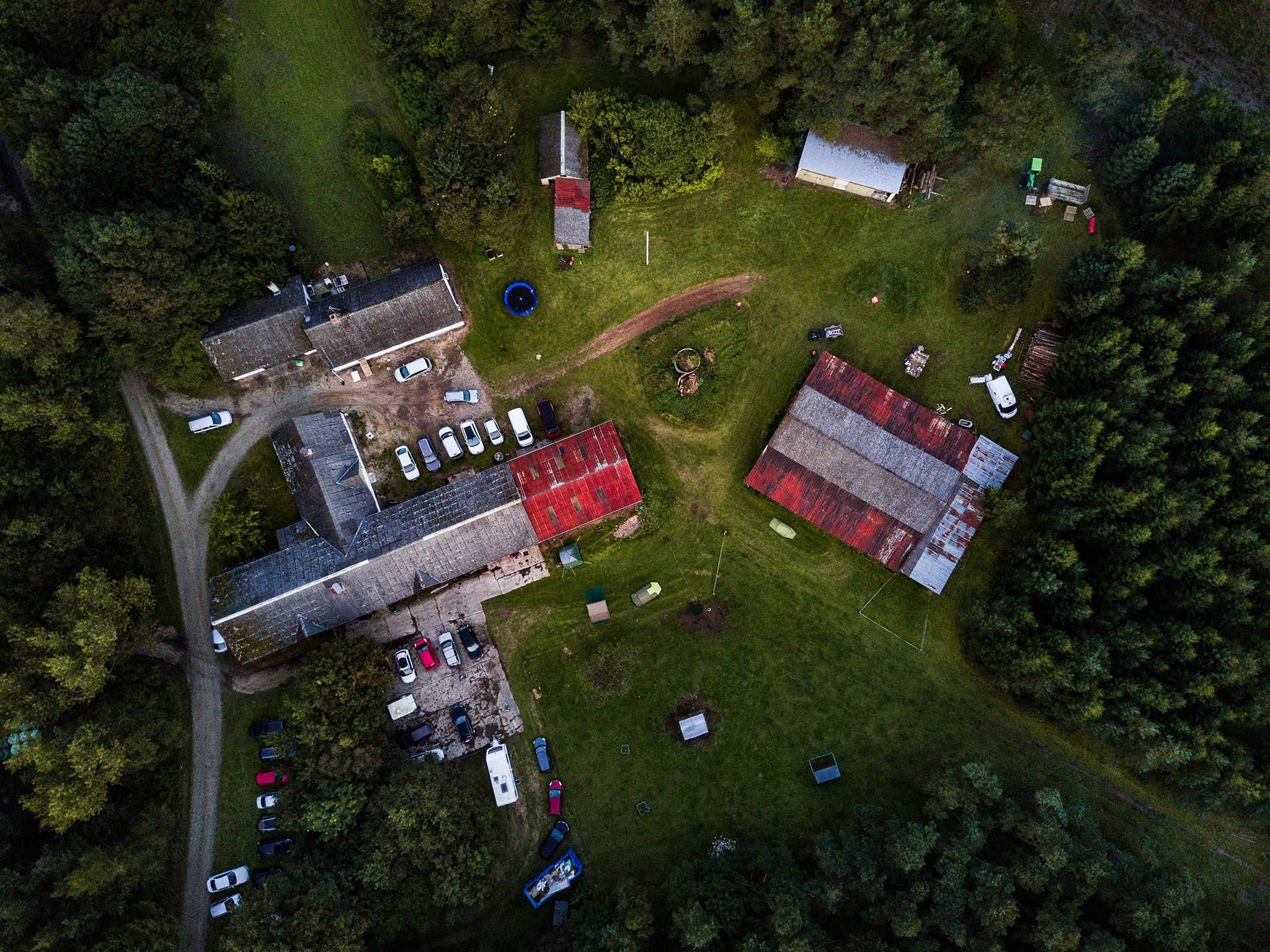 Dronefoto: Theis Poulsen