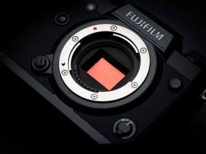 Fuji x-H1 sensor
